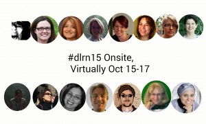 Virtually Connecting buddies at #dlrn15