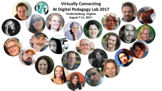 images of Virtually Connecting people