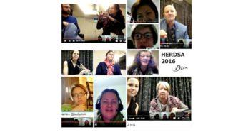HERDSA collage